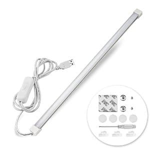 Qooltek Portable USB 30LED 6W Reading Strips Craft Light Eye-care LED Desk Reading Lamp $5.69 with Free Prime Shipping