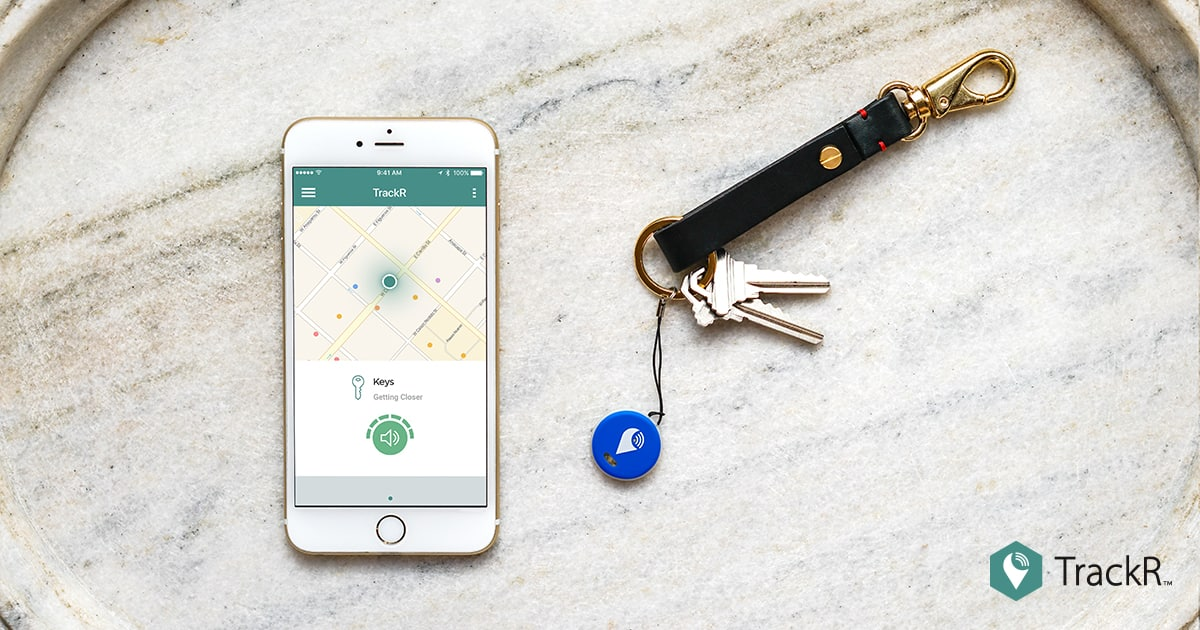 TrackR pixel Bluetooth Tracker - 5 pack - $49.99 + free shipping