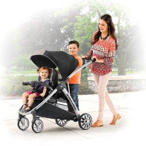 Chicco BravoFor2 2-Passenger Double Stroller, Zinc - $223.99 + FS @ Amazon