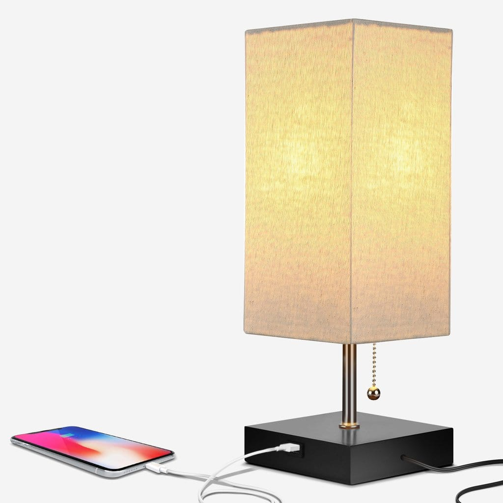 Brightech Grace Lamp with USB $11.99 with coupon code 15off