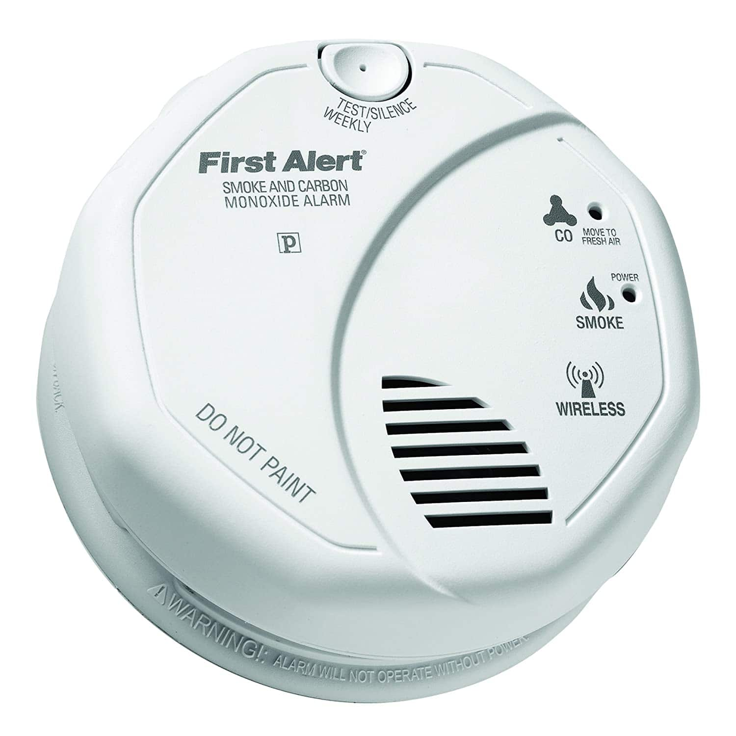 First Alert 2-in-1 Smoke and Carbon Monoxide Alarms $29.59