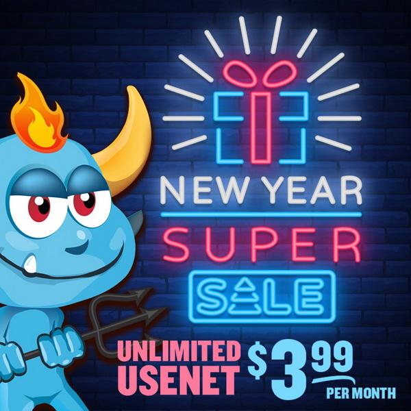 UNLIMITED Usenet + SlickVPN $3.99/mo @ Newsdemon New Year Super Sale