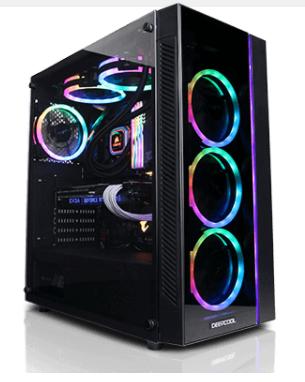 Cyberpower Thump 100 Desktop: Ryzen 5 5600x, 16GB DDR4, 1TB SSD + 3TB HDD,  MSI GeForce RTX 3080 Ventus 3x $1563.7
