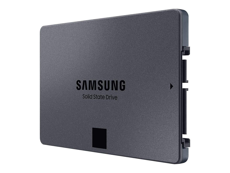 Samsung SSD 860 QVO 1TB 2.5 Inch SATA III Internal SSD (MZ-76Q1T0B/AM), Gray $98.99