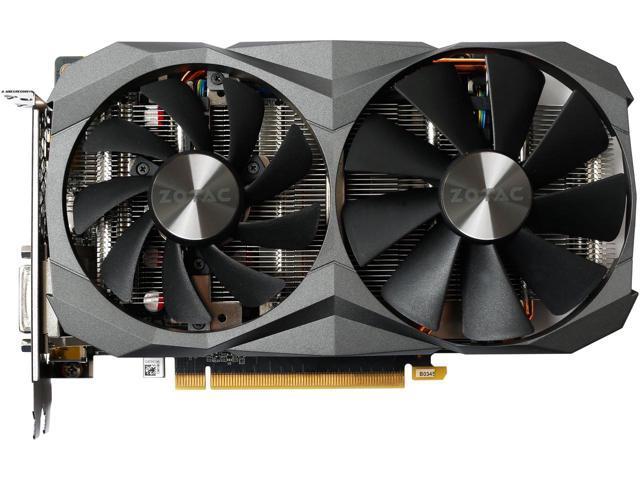ZOTAC GeForce GTX 1060 DirectX 12 ZT-P10620A-10M 6GB 192-Bit GDDR5X PCI Express 3.0 HDCP Ready Video Card $209