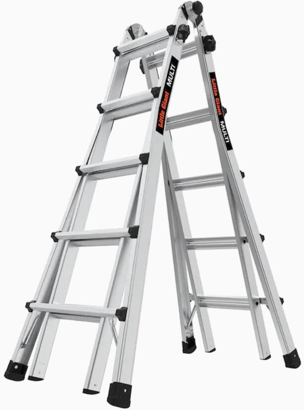 Little Giant Ladders Multi M22 Aluminum 22-ft Reach Type 1A - 300 lbs. for $149