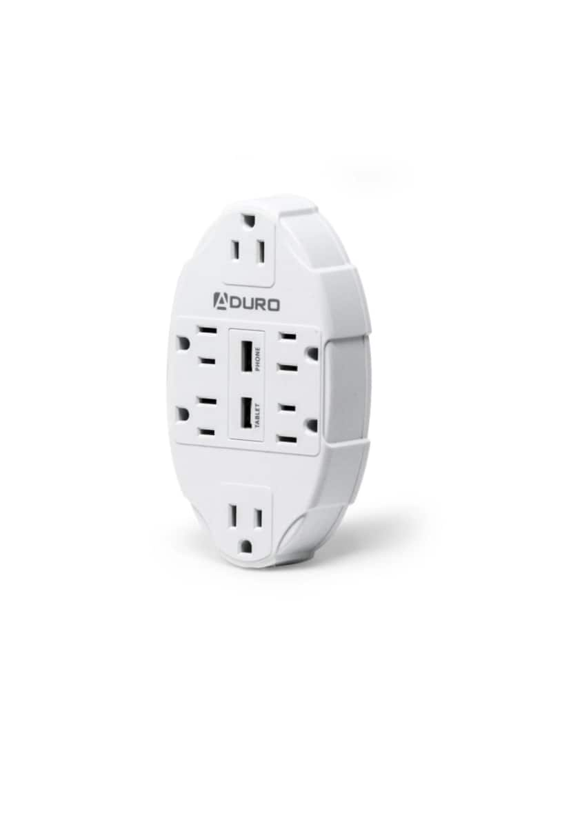 Aduro Surge Charging Station 6 Outlet - $12.99 - Free shipping for Prime members