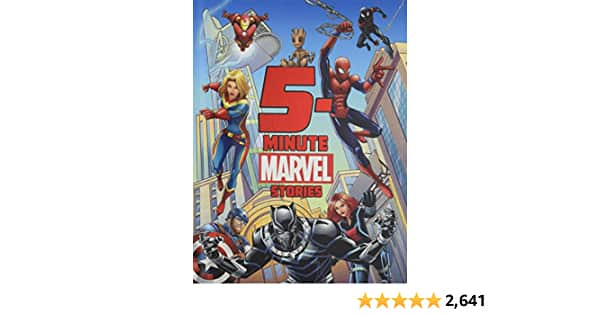 5-Minute Marvel Stories (5-Minute Stories) $5