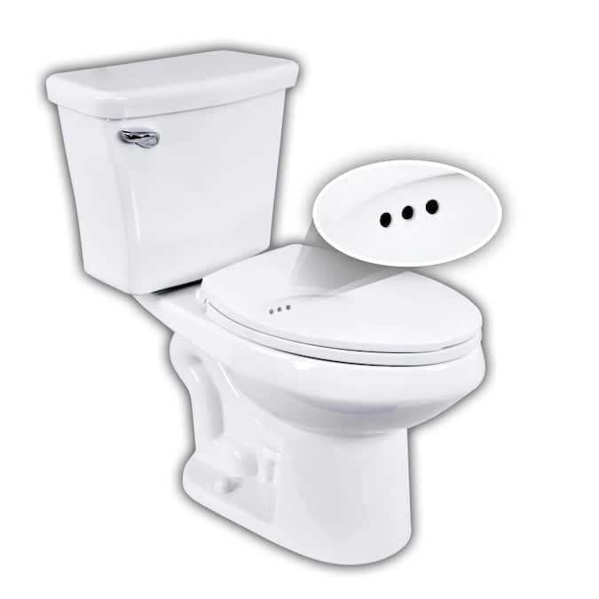 Penguin Toilets 524 White Elongated Comfort Height 2-PieceSmart WaterSense Toilet 12-in Rough-In Size (ADA Compliant) Lowes.com - $32.02 TMMV