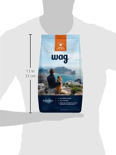 Wag Amazon Brand Dry Dog Food (5lb size only) - 40% extra savings coupon applied to first Subscribe & Save order $7.8