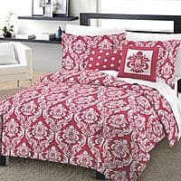 Kohls Deal: KOHLS : One Home Marchaline 4-pc. Comforter Set - XL Twin(PINK) $11.89 After coupons +shipping