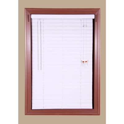 Bali Mini Blind 1 in. Slats (23X48) : $2.76 / White 2IN Vinyl Blinds (35X72) : $9.49 + Free Store Pickup and more....