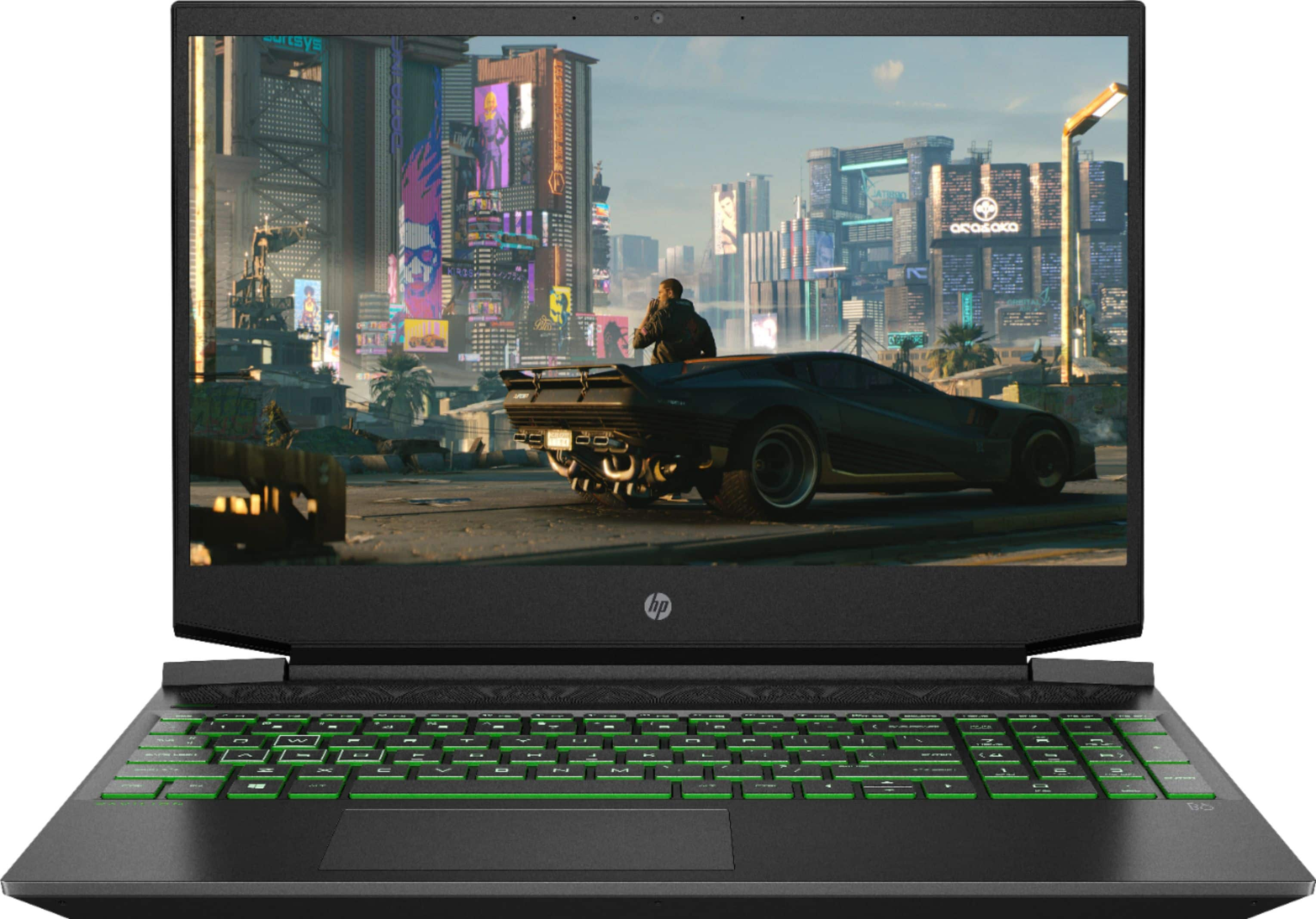 "HP Pavilion 15.6"" Gaming Laptop AMD Ryzen 5 8GB Memory NVIDIA GeForce GTX 1650 256GB SSD Shadow Black 15-ec1073dx - Best Buy"