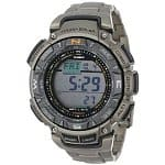 Casio PAG240T-7CR Pathfinder Triple-Sensor TITANIUM Watch, $162 shipped.