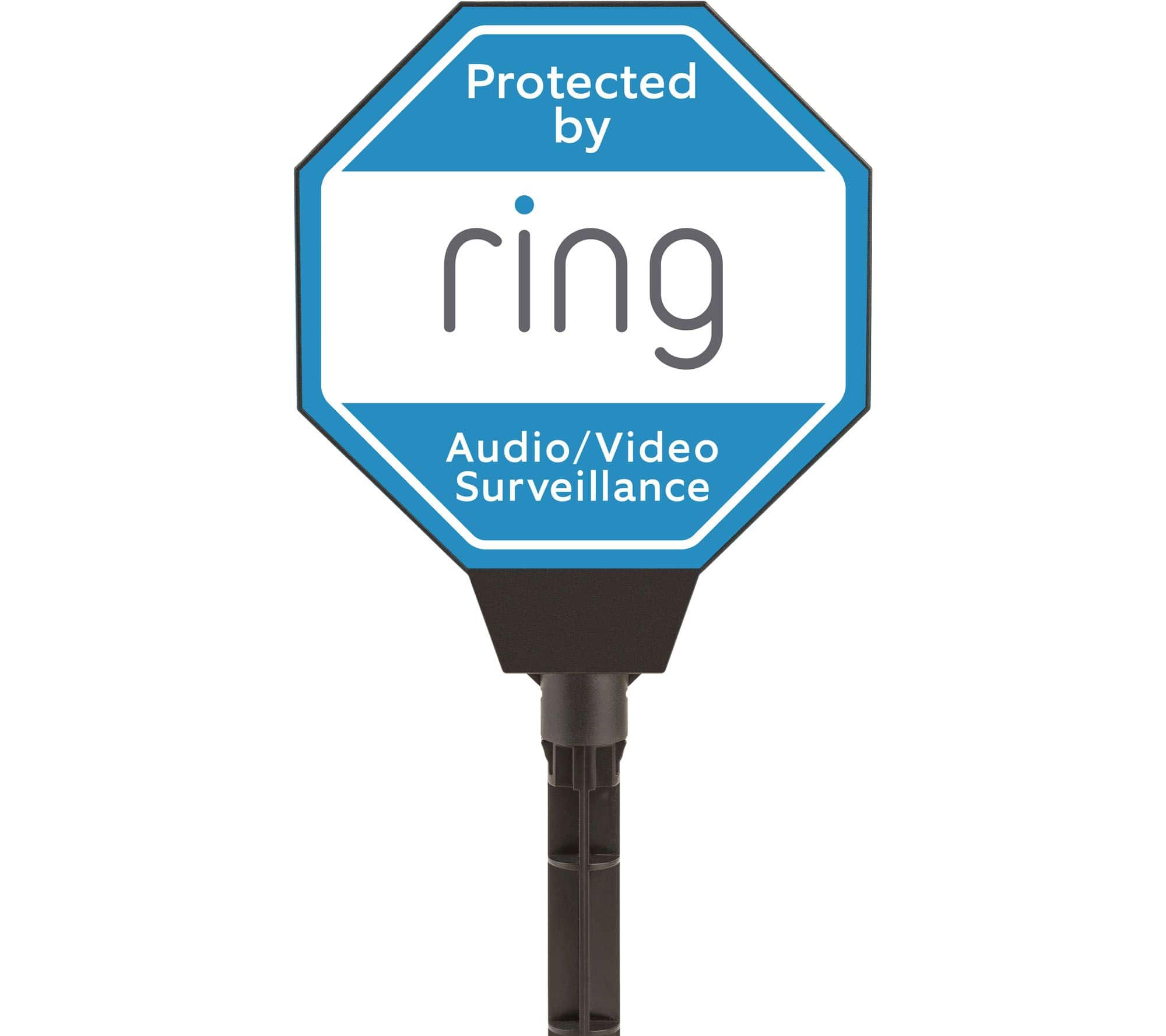 Ring Solar Powered Light-up Security Yard Sign $15 5 ($10+$