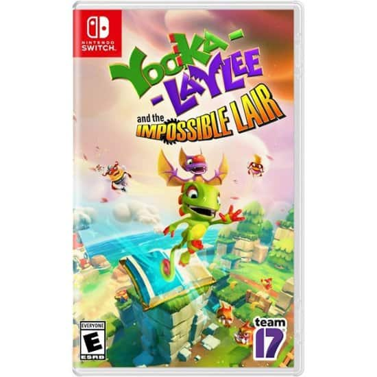 Yooka-Laylee: The Impossible Lair - Nintendo Switch Physical Copy $25.93