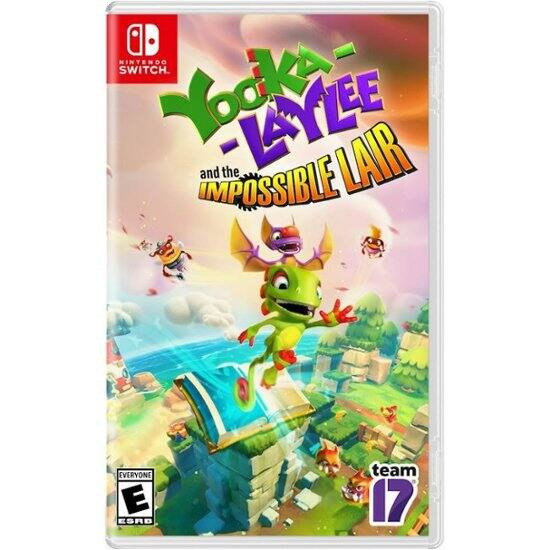 Yooka Laylee Impossible Lair - Physical Nintendo Switch $21.99