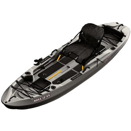 397 Tax Sun Dolphin Boss 12 SS Sit On Top Stand Up Angler Kayak Walmart BM