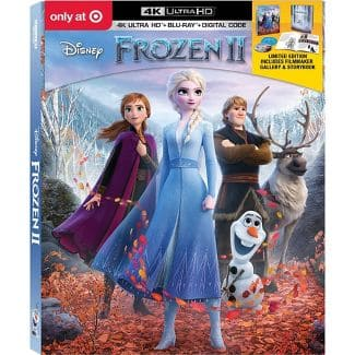 Frozen II (Target Exclusive) (4K UHD + Blu-ray + Digital) $24.49