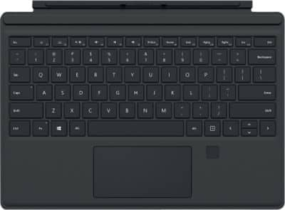 Staples- Microsoft-Surface-Pro-4-Type-Cover-with-Finger-Print-Reader-Black $71.79 w/ VISA Checkout + Free Shipping