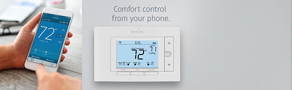 Emerson Sensi Wi-Fi Thermostat for Smart Home $96.62