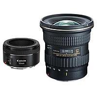 Tokina ATX 11-20mm F/2.8 Pro DX UW Zoom Lens Canon EF Mount + Canon 50mm  F/1.8 STM - $  549
