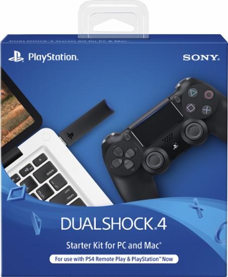 Sony - DualShock 4 Wireless Controller Starter Kit for PlayStation 4 - Black - $27.99