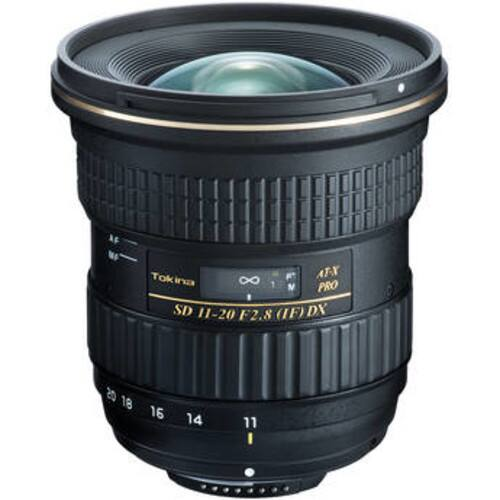 Tokina AT-X 11-20mm f/2.8 PRO DX Lens for Nikon or Canon - $469.00