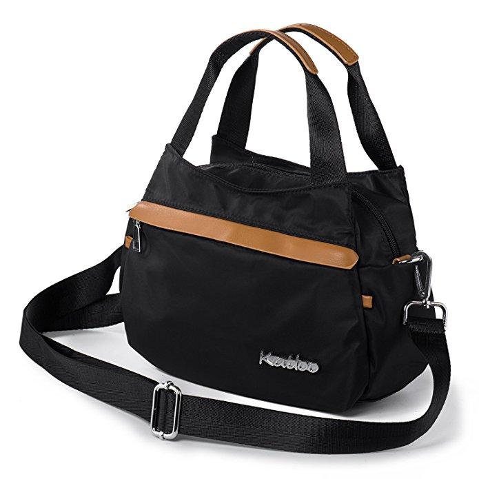 Women's Tote Bag Black $8.36 AC @ Amazon