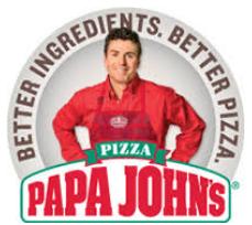 Papa johns 50% off, plus 25 bonus points when you spend $15