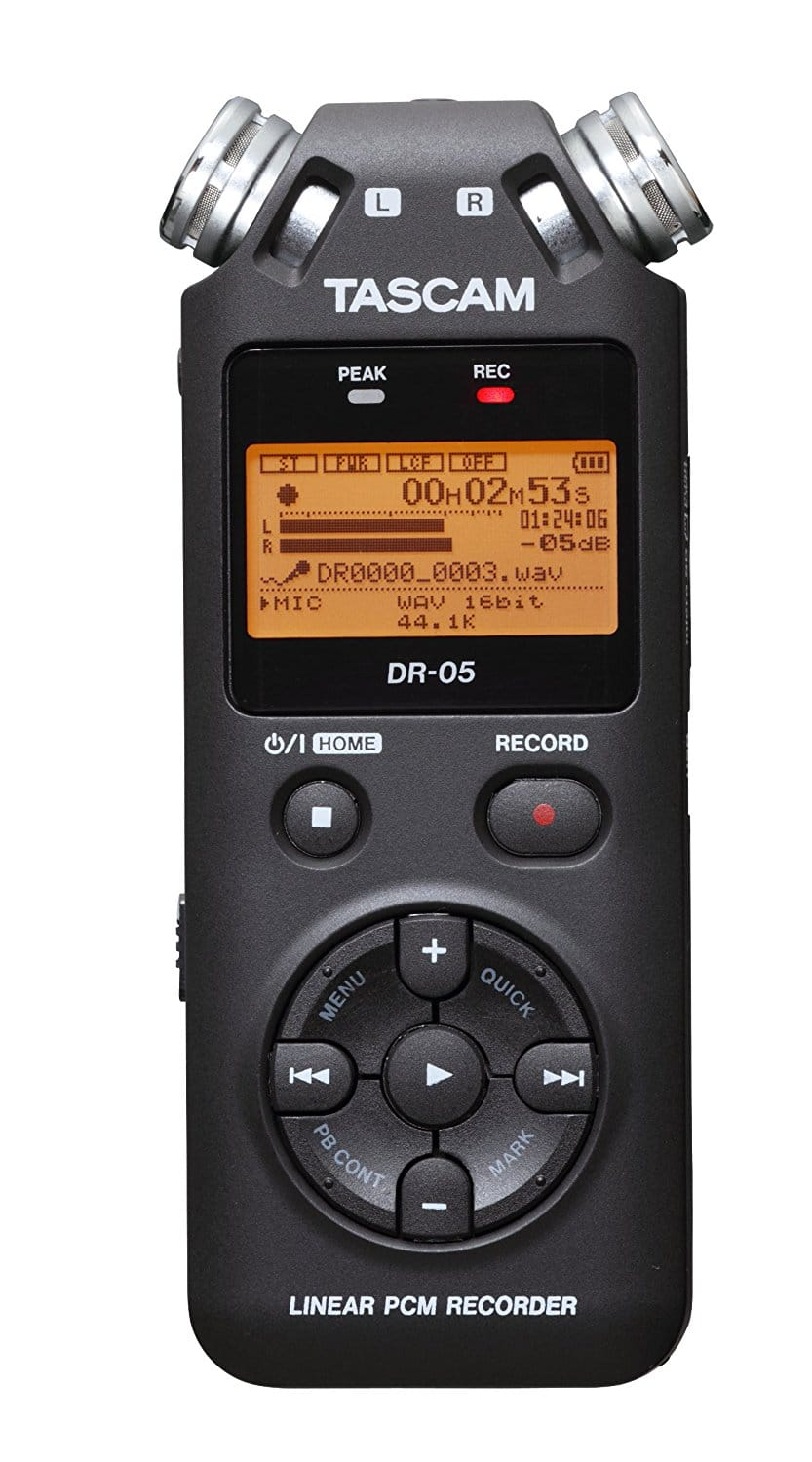 Tascam DR-05 Portable Digital Recorder (lowest price with free shipping) $79.99