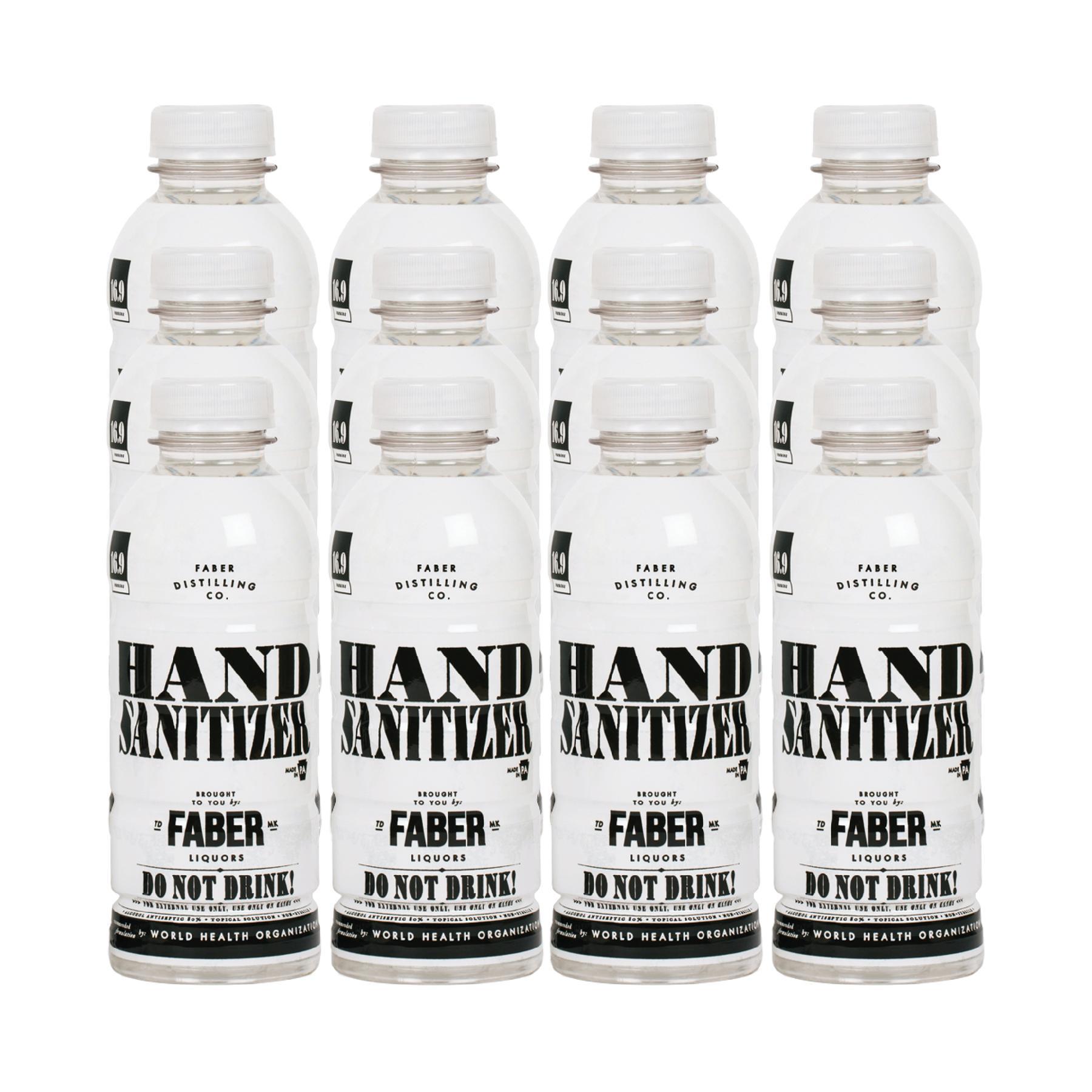 Hand sanitizer—16.9oz - 12 pack $53.99
