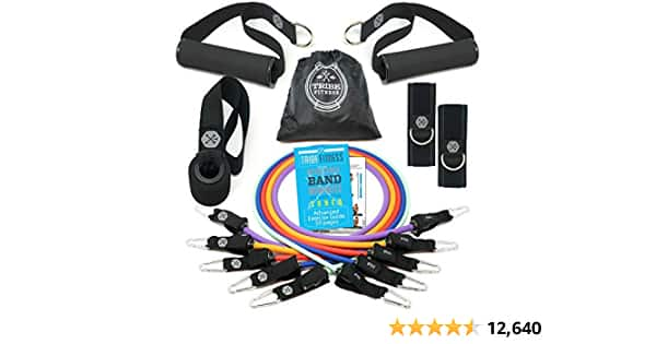TRIBE PREMIUM Resistance Bands (45lbs-150lbs)