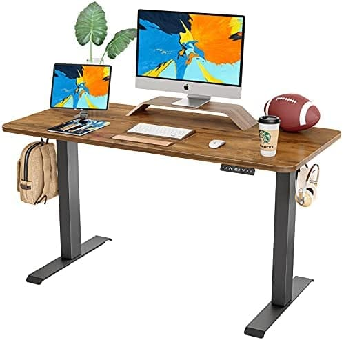 FAMISKY Dual Motor Adjustable Height Electric Standing Desk From $209.99