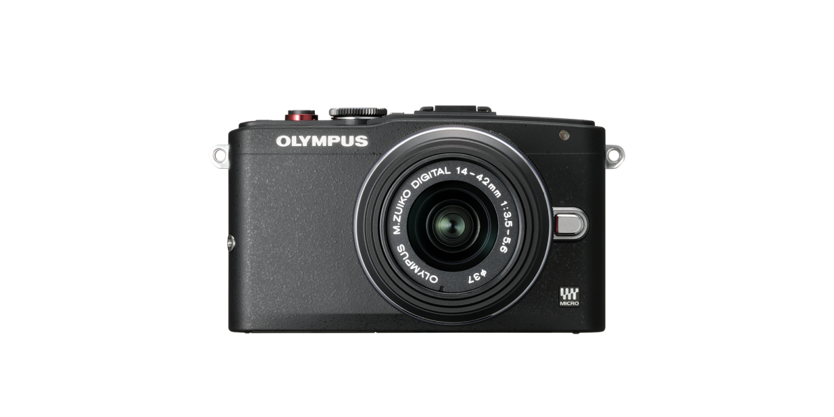 Olympus E-PL6 Mirrorless Camera Black Body with 14-42mm II R Black Lens (Reconditioned) at Olympus Outlet -  $159.99 + Tax + FS