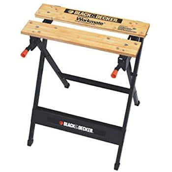 Black&Decker Workmate $19.99 or get the generic version for $9.99 at Menards B&M (in-store only)