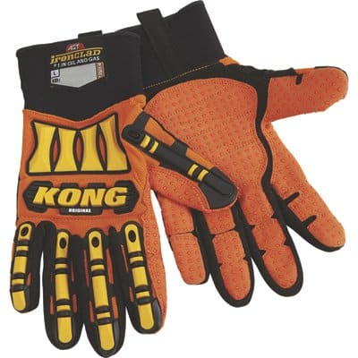 Ironclad Kong Original Oil and Gas High Visibility Impact-Resistant Gloves $7.99 or Kong High Visibility Rigger Impact Gloves $9.99 at Northern Tool