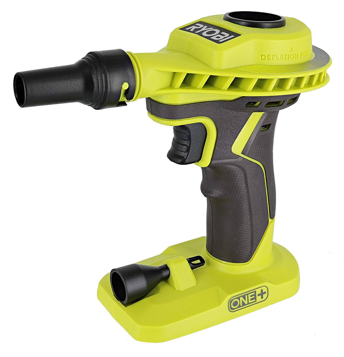 RYOBI 18-Volt ONE+ Cordless High Volume Power Inflator (Tool Only) - Home Depot in store only clearance, YMMV $7.53