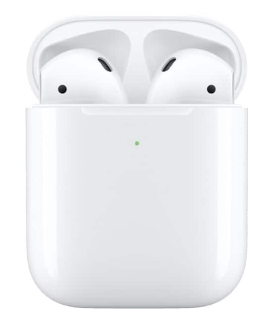 Refurbished Apple AirPods w/wireless charging case $109.99