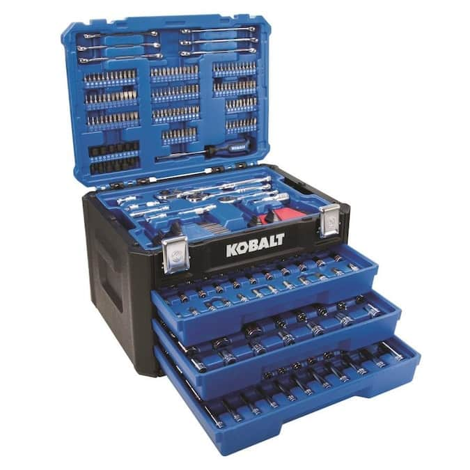 YMMV - Lowe's In-Store 319 Piece Metric/SAE Combination Mechanics Tool Set $53.38