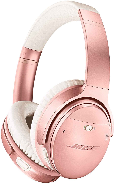 Bose QuietComfort 35 II Wireless Bluetooth Headphones, Noise-Cancelling, Rose Gold $249