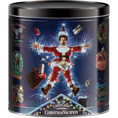 Holiday Popcorn Tins (24 oz) 50% Off ($2.50) at Walmart B&M