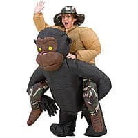 Sears Deal: Inflatable Riding Gorilla Costume for $30.37 @ Sears (shipping only)