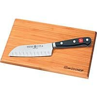 "Cabelas Deal: Wusthof Classic 5"" Santoku Knife with Bamboo Cutting Board $49.99 FS @Cabelas"