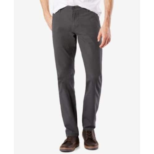 Dockers Men's Stretch Slim Tapered Fit Alpha Khaki Pants $22.49