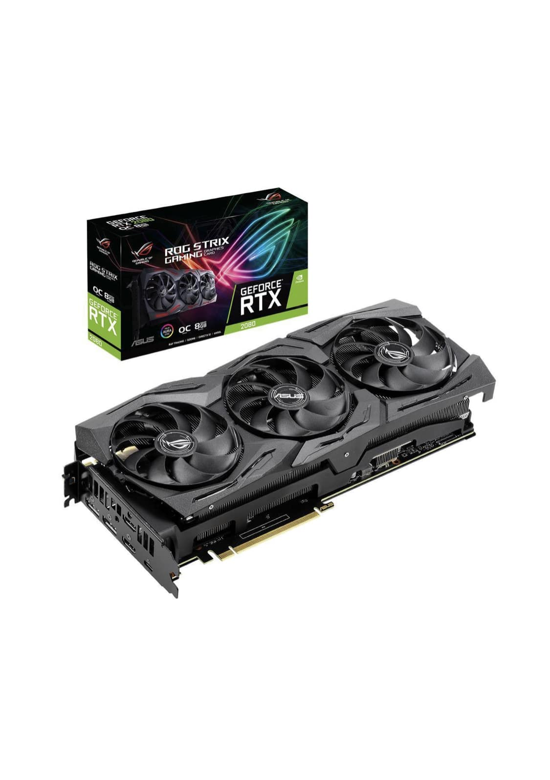 Open Box ASUS ROG STRIX GeForce RTX 2080 8GB Overclocked + F/S $591.99