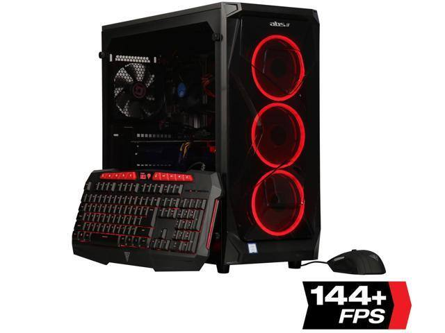 ABS Gaming Desktop: RTX 2080, i7-8700, 16GB, 240GB SSD + 1TB HD w/ Wolfenstein Youngblood + F/S $1299.99