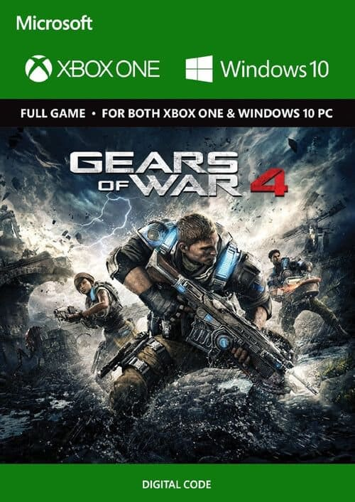 Gears of War 4 Xbox One / PC Digital Download $2.49