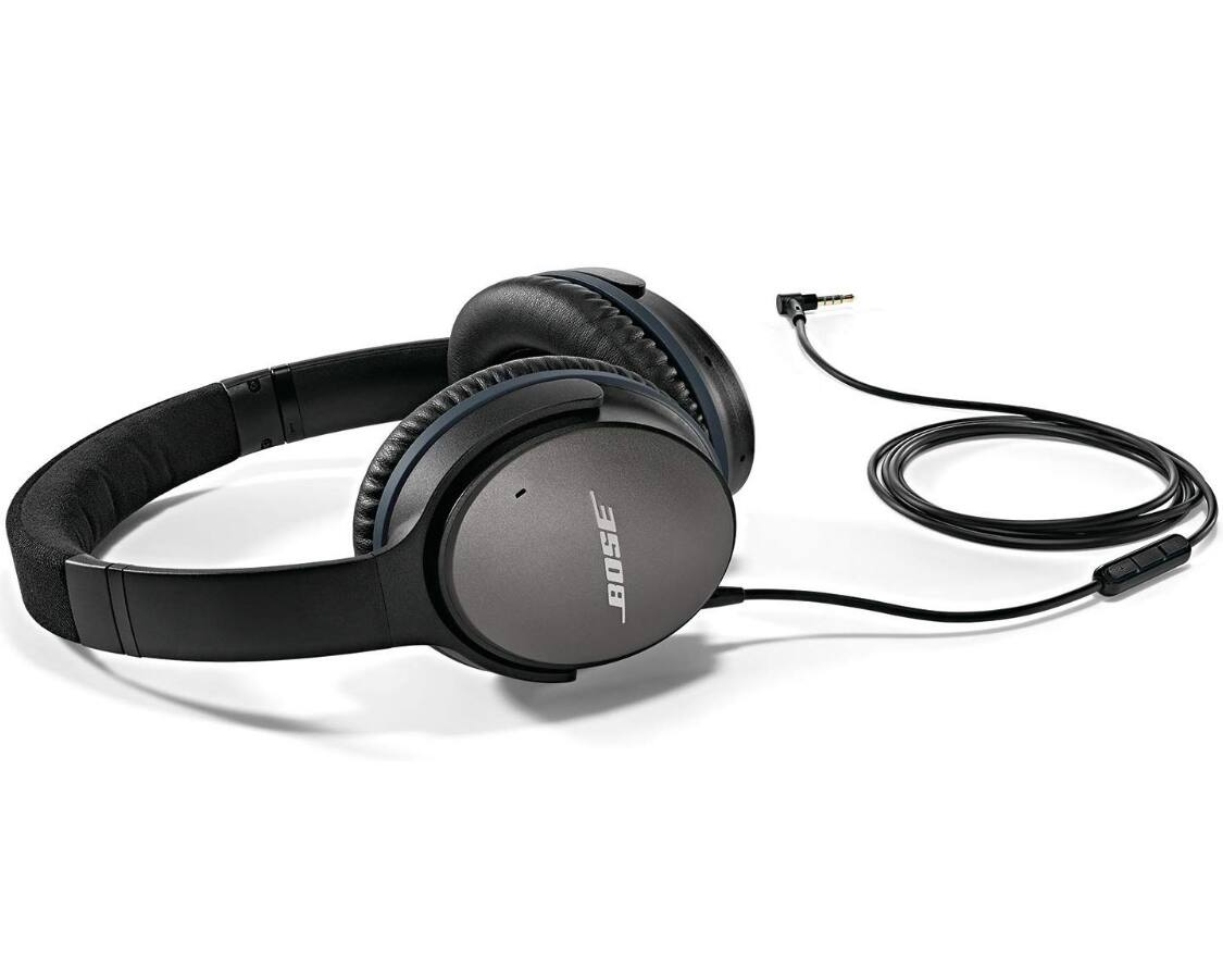 Bose QuietComfort 25 Acoustic Noise Cancelling Wired Headphones + F/S $129