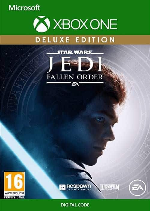 Star Wars Jedi: Fallen Order Deluxe Edition (Xbox One Digital Download) $35.39